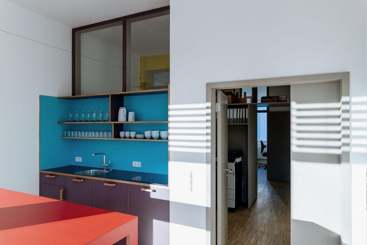 Küche Büroraum
