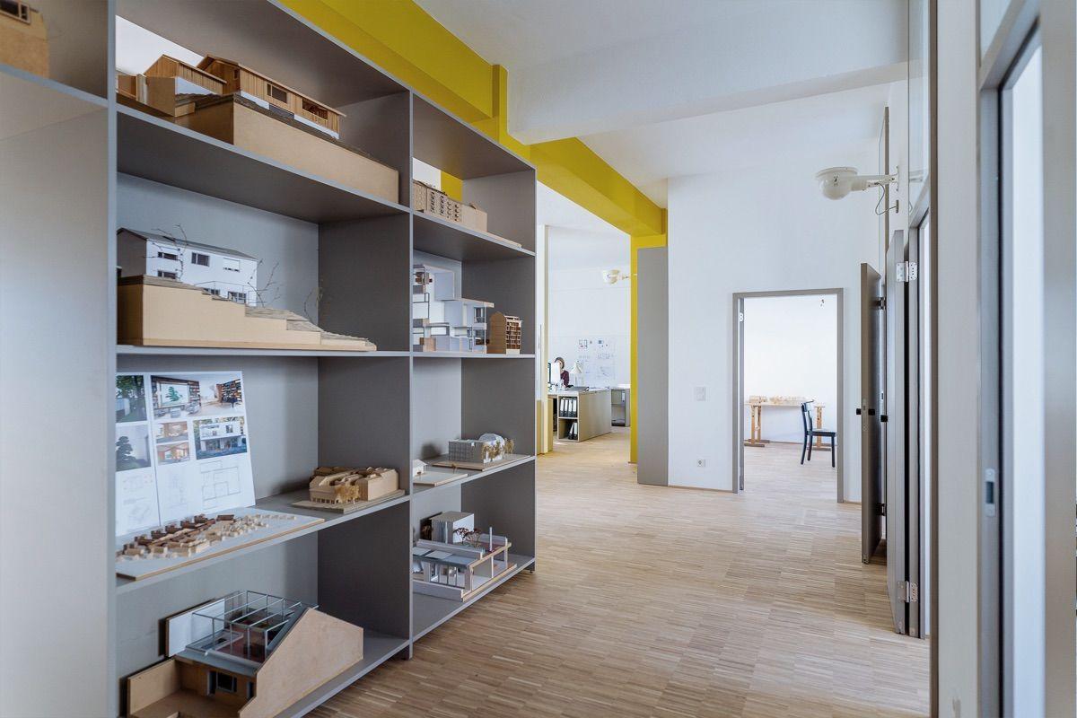 Büroraum Knopp Wassmer Architekten